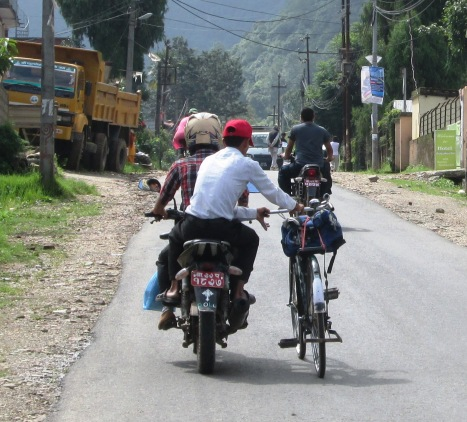 These seemingly unusual sights are more common that you'd expect!  Almost anything goes on roads in developing Asia...