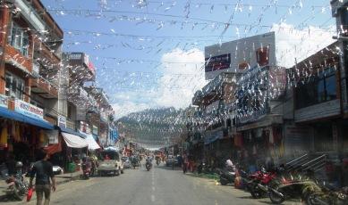 Sparkling Dashain decorations