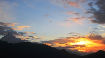 Sunrise at Poon Hill...