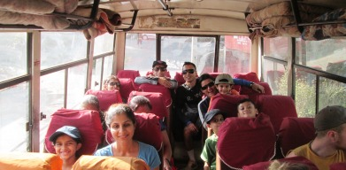 Ready for the journey back to the center of Kathmandu!