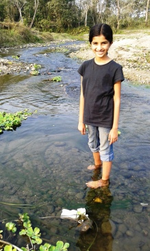Clean water, stones, tadpoles and hours of fun by the creekside...