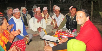 Music session with villagers - what a special opportunity!