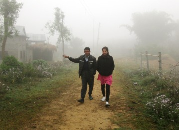 The morning fog is intense in the Terai - doesn't lift until after 11am and significantly impacts crop yield, airport safety, drying of clothes, etc, etc, etc...