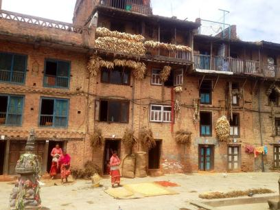 Simplicity and beauty of Nepal's villages - women, homes, harvests...